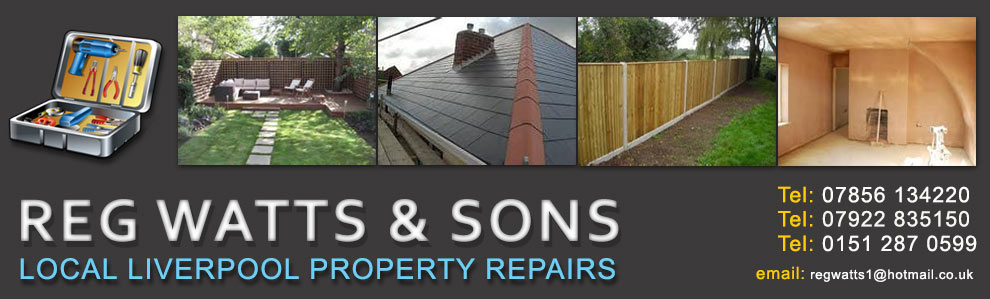 Reg Watts and Sons,Property maintanance and garden design maintanance liverpool from only £15 per week